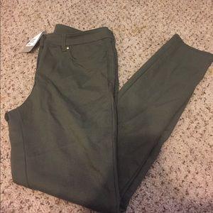 Hm olive leggings brand new